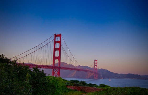 Photographers of Las Vegas - Landscape Photography - golden gate bridge sunset