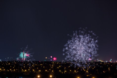 Photographers of Las Vegas - Landscape Photography - 4th of July Fireworks on Las Vegas strip