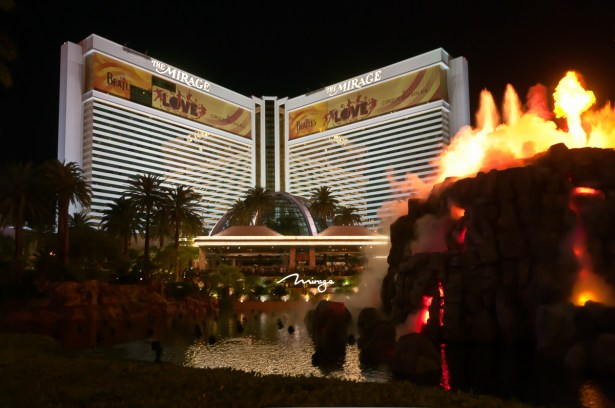 Photographers of Las Vegas - Architectural Photography - mirage volcano