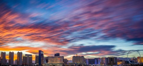 Photographers of Las Vegas - Landscape Photography - Vegas Strip at Sunset