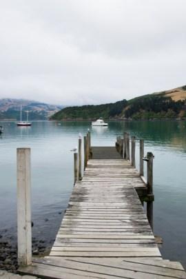 Akaroa, NZ, Jetty