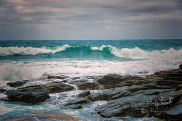 Stormy Seas at Flinders Blowhole, near Cape Schanck