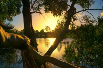Autumn Sunset-