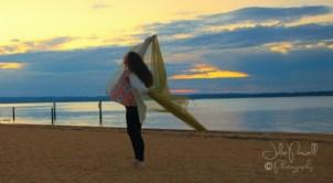Ballerina at Sunset--2