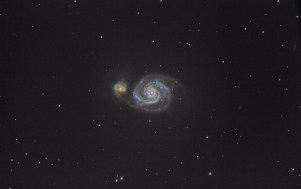M51 with a Dobsonian