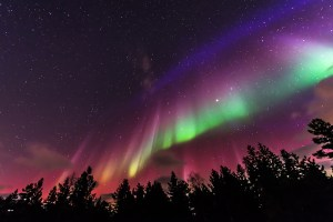 Flag Shaped Aurora APOD
