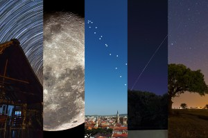 5 anytime anywhere Astrophotography projects