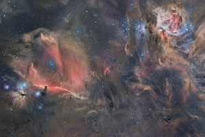 Paul Swift The Space Walk Orion Nebula
