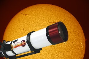tuning a Lund solar scope