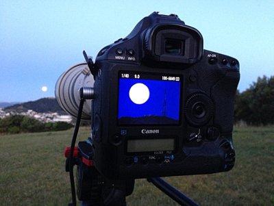 Mark Gee moon camera test