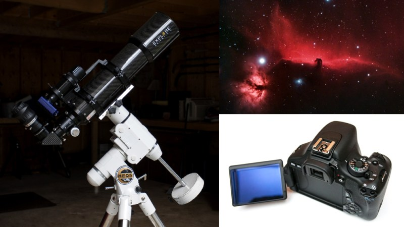A Basic Deep-Sky Setup for DSLR Astrophotography