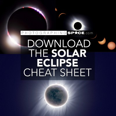 Download the Solar Eclipse Photography cheat sheet