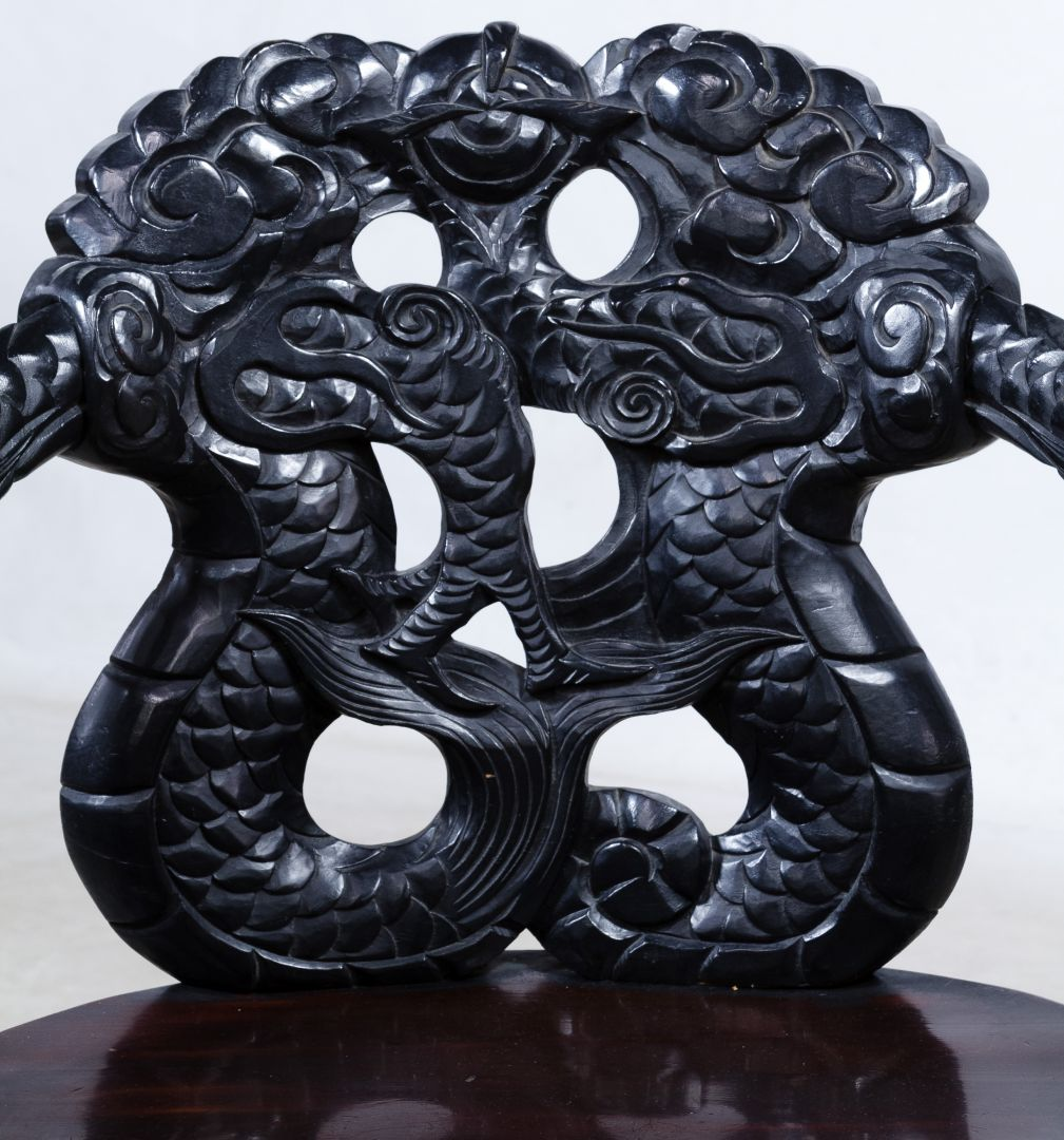 Dragon Chair Lot 159 Asian Carved Dragon Chair Leonard Auction Sale 231