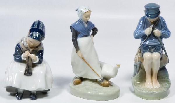 Lot 400 Royal Copenhagen Figurines Leonard Auction