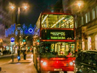 Londoner Straßenszene