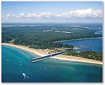 Aerial Photos Of White Lake And Montague MI