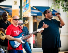 Band Photography  Funky G at the Greene Towne Center in Beavercreek, Ohio