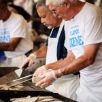 Grilling the Gyros at the Dayton Greek Festival - Dayton Photographer Alex Sablan