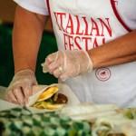 Sausage Sub at the Italian Fall Festa - Dayton Photographer Alex Sablan
