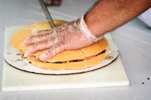 Cutting the Muffaletta - Dayton Photographer Alex Sablan