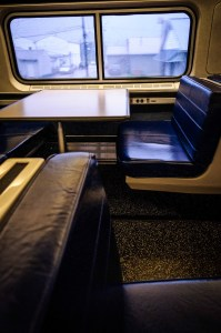 Amtrak Dining Car - Dayton Photographer Alex Sablan