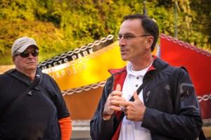 Walk Leader Keith Keiser (right) - Dayton Photographer Alex Sablan