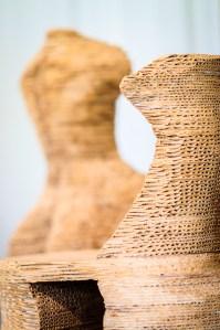 Cardboard Models by Susie Broidy - Dayton Photographer Alex Sablan