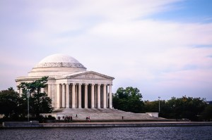 Jefferson Memorial from the Paddle Boats - Dayton Photographer Alex Sablan