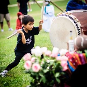Shinto Drummer Boy - Dayton Photographer Alex Sablan