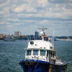 NYPD Dive Team on the Hudson River - Dayton Photographer Alex Sablan