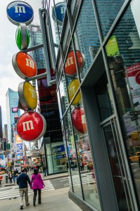 M&M Store Times Square - Dayton Photographer Alex Sablan