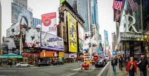 North End of Times Square Pano - Dayton Photographer Alex Sablan