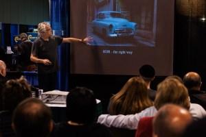 Rick Sammon Teaching HDR at PhotoPro Expo 2013