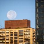 Manhattan Moon Photo by Dayton Photographer Alex Sablan