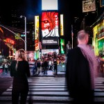 The Ghosts of Times Square NYC Photo