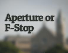 Aperture or F-Stop by Dayton Photographer Alex Sablan