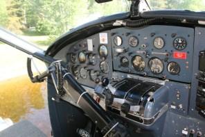 Instruments; I sat co-pilot