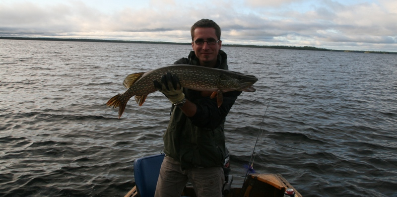 33 inch Northern Pike (Photo by Peter Greff)