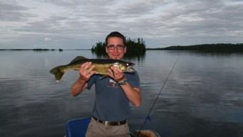 25 inch Trophy Walleye (Photo by Peter Greff)