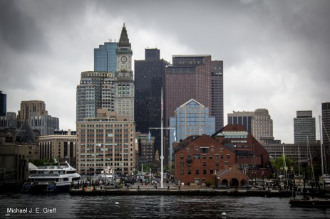 Long Warf looking towards the old State House