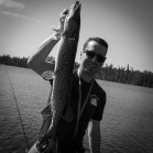 "33"" Northern Pike, caight in Maun Bay (Photo by Big E)"
