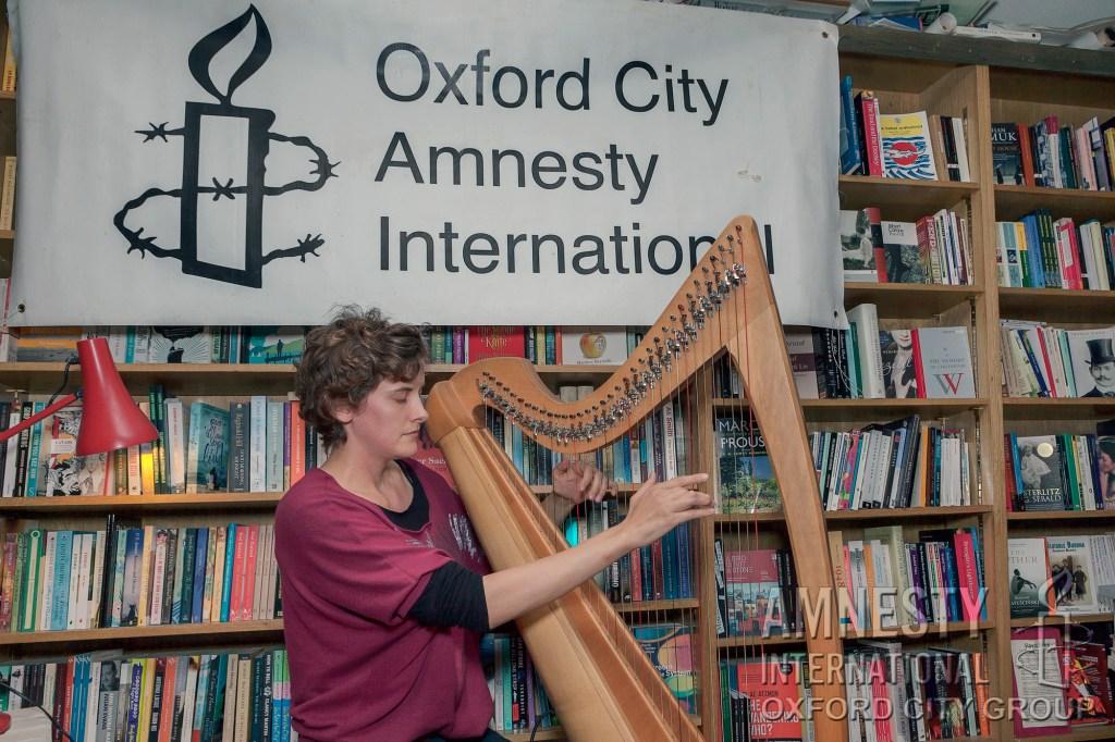 Oxford Amnesty Acoustic Evening - Featuring Barney Morse-Brown a.k.a. Duotone, Simon Davies plus harpist Steph West.