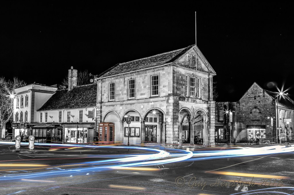 Witney Town Hall at Night