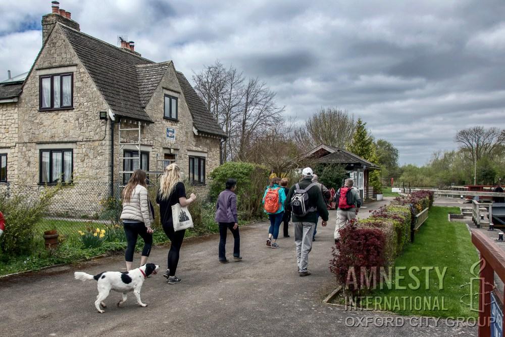 Kings Lock - Oxford City Amnesty sponsored walk 2017