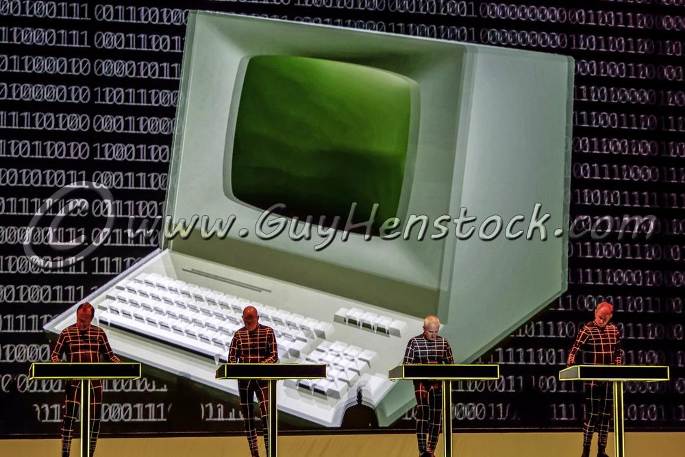 Kraftwerk at New Theatre Oxford
