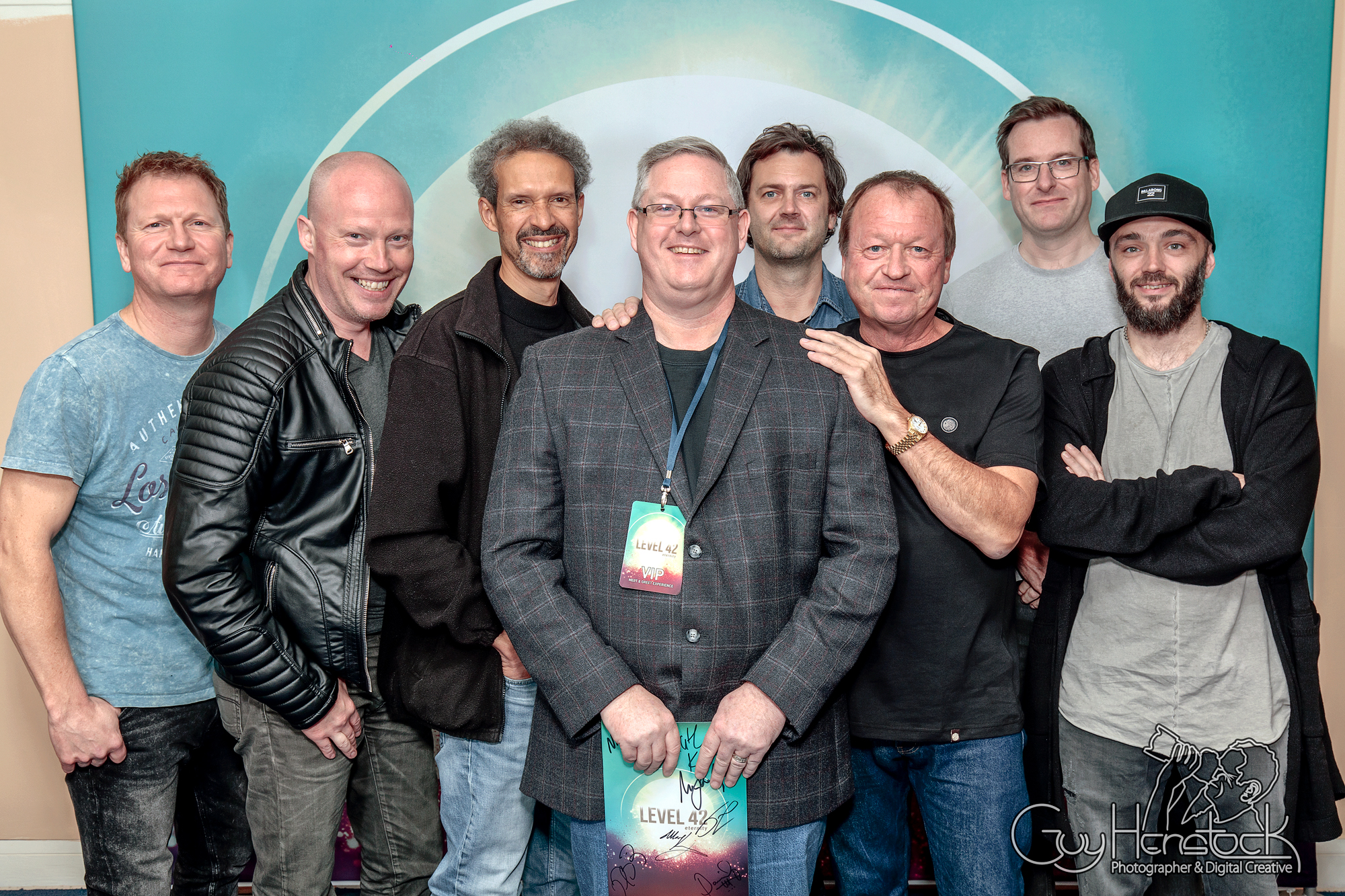 Level 42 Meet and Greet - Oxford new Theatre