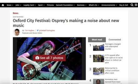 Oxford City Festival Oxford Mail featured image