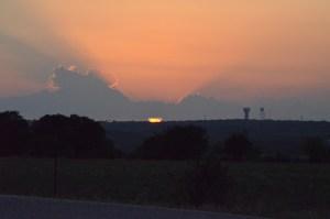 Sunset in Garden Ridge