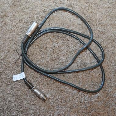 "7' 2"", 4 Pin Hirikawa XLR female to male cable"