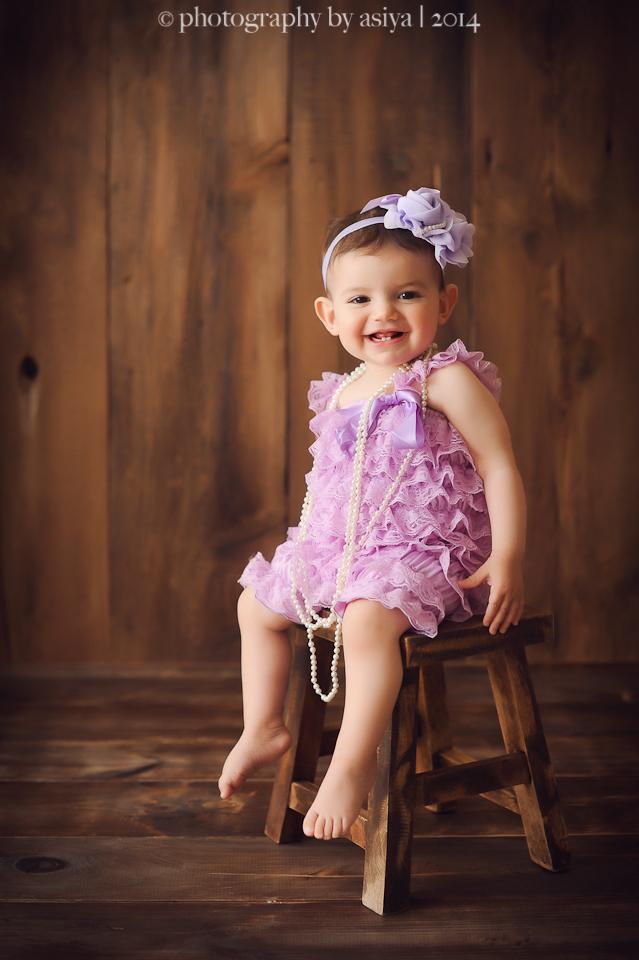 One Year North Jersey Baby Photographer Edgewater NJ  Photography by Asiya NJ Newborn